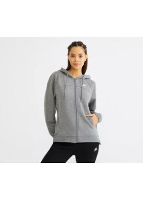 Skechers Lightweight Fleece W FZ Jacket KADIN SWEATSHIRT