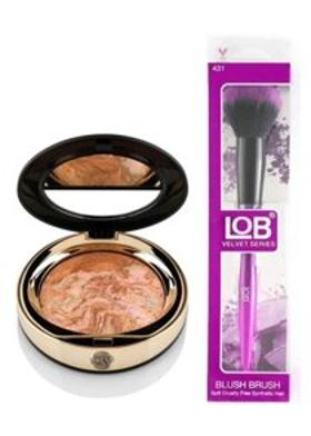New Well Newwell Terracotta Porcelain Make-Up D-142 15 Gr+Lob Velvet Allık Fırçası