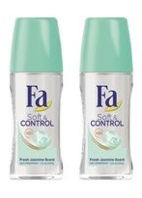 Fa Fa Soft & Control Roll-On 50 Ml 2'Li Paket