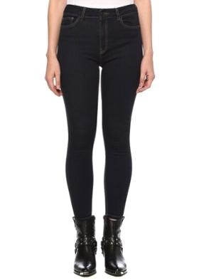 Network Basic Fit Lacivert Normal Bel Jean Pantolon