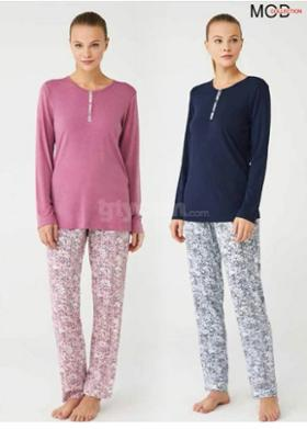Mod Collection Bayan Pijama Takım 3402