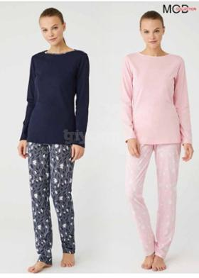 Mod Collection %100 Pamuklu Pijama Takım 3383